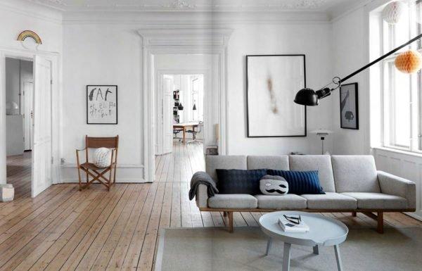 Яркие оттенки позволяют визуально скорректировать пространство
