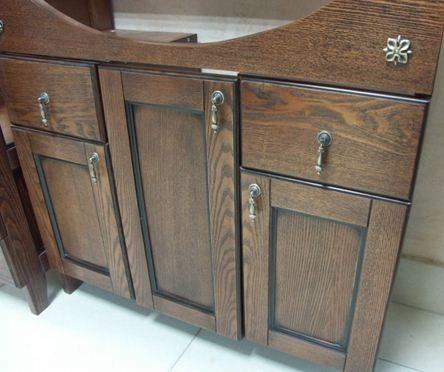 muebles de cocina en madera de roble