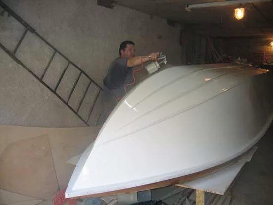 Лодка из стеклопластика как сделать