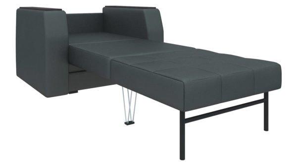 За темной мебелью гораздо проще ухаживать.