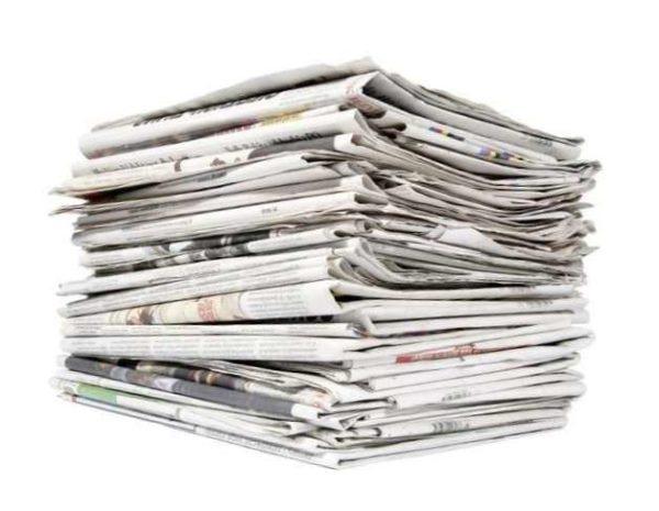Зачем идти по магазинам в поисках грунтовки и шпаклёвки, если их заменитель в виде стопок газетной бумаги пылится в кладовке?