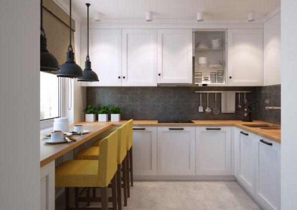 Задействуйте на кухне сразу несколько вариантов освещения – от этого она только выиграет