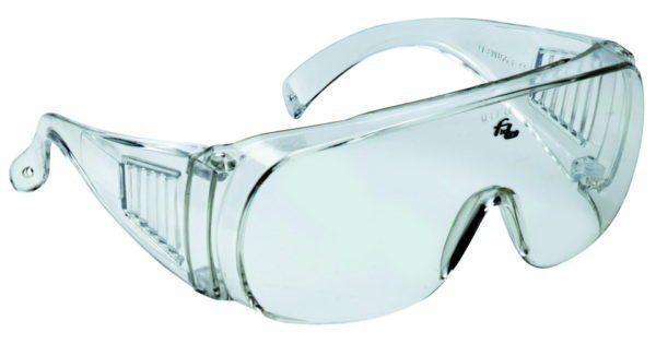 Защитные очки позволят избежать попадания в глаза агрессивных растворов